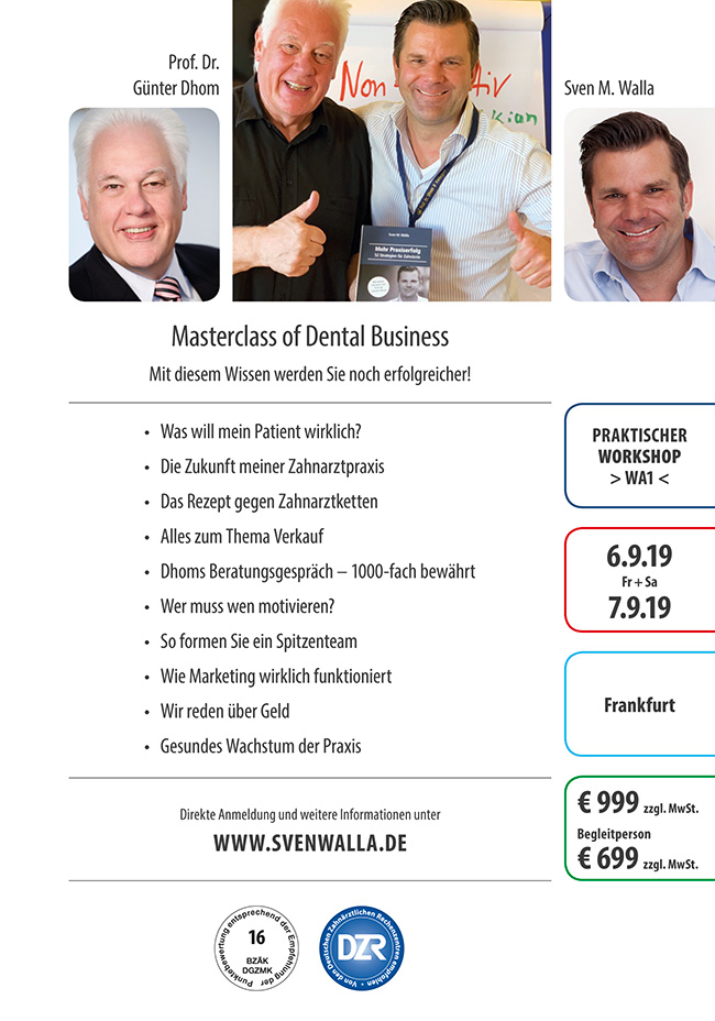 Masterclass of Dental Business